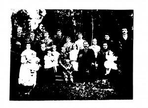 Família de Pietro Bonat e Maria Madalena Colodel - 1910